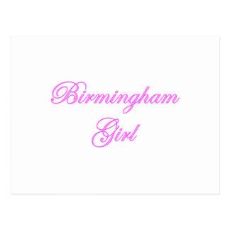 Birmingham Girl Postcard