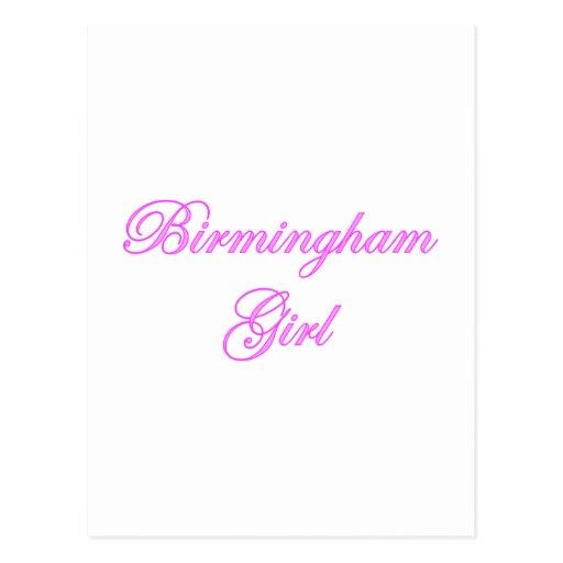 Birmingham Girl Post Cards
