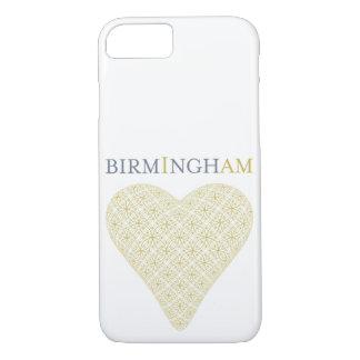 Birmingham Golden Heart Phone Case