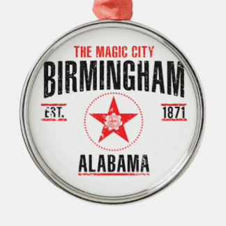 Birmingham Metal Ornament