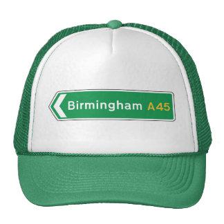 Birmingham, UK Road Sign Cap