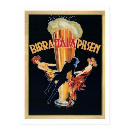 Birra Itala Pilsen Postcards