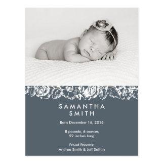 Birth announcement ı Postcard