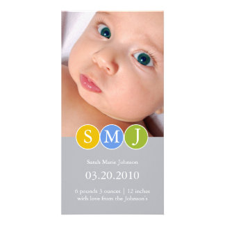 Birth Announcement Photo Cards