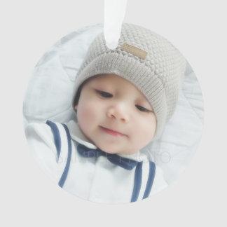 Birth Announcement with Custom Newborn Baby Photo