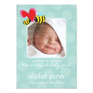 BIRTH ANNOUNCEMENTS :: bee-autiful 3P
