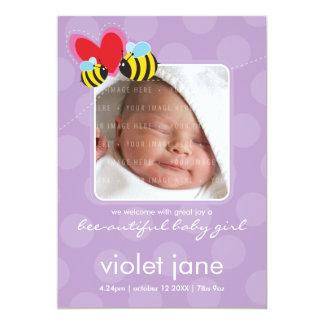 BIRTH ANNOUNCEMENTS :: bee-autiful 5P