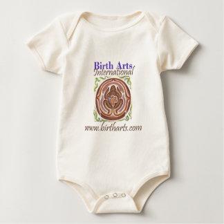 Birth Arts International Logo Gear Baby Bodysuit