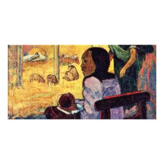 Birth (Bé Bé) By Gauguin Paul (Best Quality) Custom Photo Card