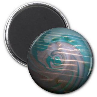 Birth Light 6 Cm Round Magnet