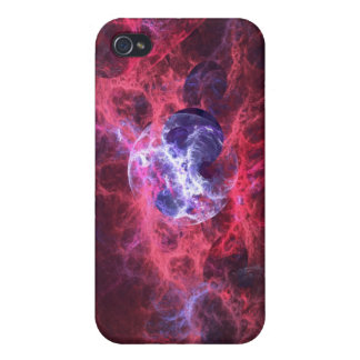 Birth of a Star Fractal Art iPhone 4 Cases