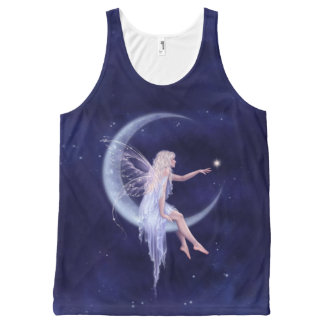 Birth of a Star Moon Fairy All-Over Print Tank Top