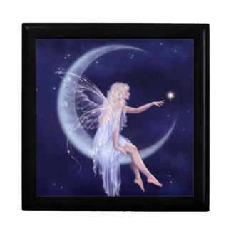 Birth of a Star Moon Fairy Keepsake Box