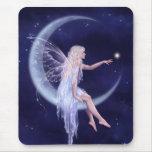 Birth of a Star Moon Fairy Mousepad