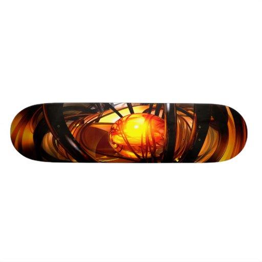 Birth of a Sun Abstract Skateboard