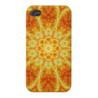 Birth of a Sun Mandala Cover For iPhone 4