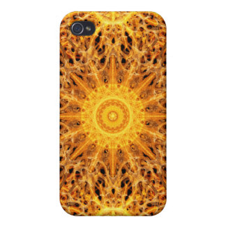 Birth of Fire Mandala Covers For iPhone 4