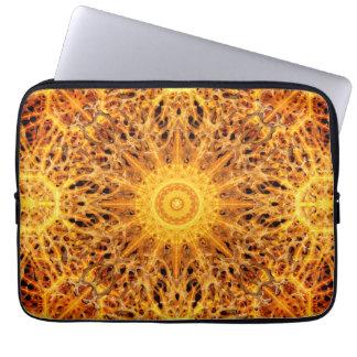 Birth of Fire Mandala Laptop Sleeve