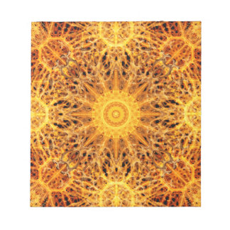 Birth of Fire Mandala Notepads