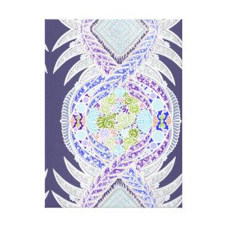 Birth of life, New age, meditation, boho, hippie Canvas Print