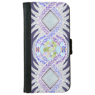 Birth of life, New age, meditation, boho, hippie iPhone 6 Wallet Case