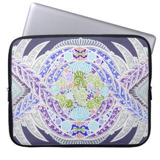 Birth of life, New age, meditation, boho, hippie Laptop Sleeve