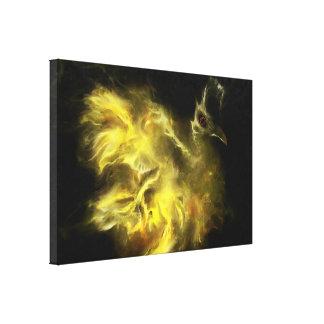 Birth of Phoenix Canvas Print