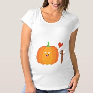 Birth Of Pumpkin Spice Funny Fall Maternity Shirt