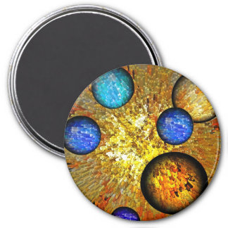 Birth of Time 7.5 Cm Round Magnet