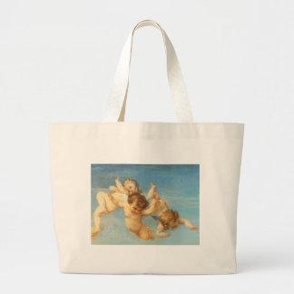 Birth of Venus, Angels detail by Cabanel Jumbo Tote Bag