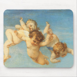 Birth of Venus, Angels detail by Cabanel Mousepads