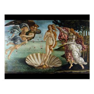 Birth of Venus by Botticelli Postcard