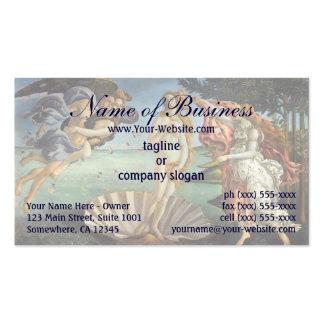 Birth of Venus by Sandro Botticelli Pack Of Standard Business Cards