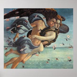 Birth of Venus, Detail - Mythological Couple Poster