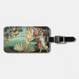 Birth of Venus Italian Flag Luggage Tag