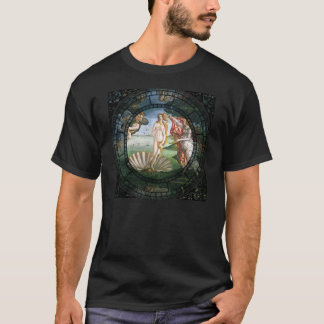 Birth of Venus Motif T-Shirt