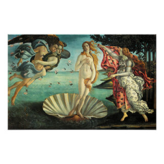 Birth of Venus Poster
