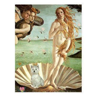 Birth of Venus - Westie (S) Postcards