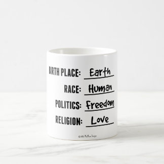 BIRTH PLACE EARTH MUG