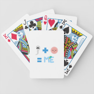 Birth Process Bicycle Playing Cards