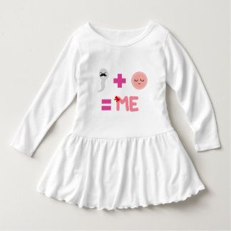 Birth process Toddler Ruffle Dress