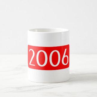 birth year 2006 text birthday number coffee mug