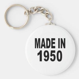 Birthday 1950 keychain