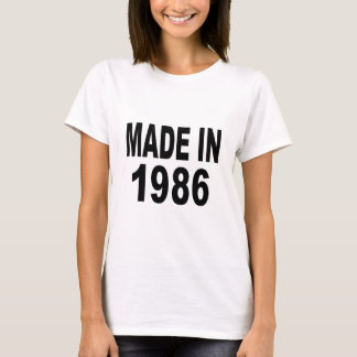 Birthday 1986 T-Shirt