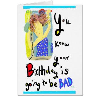 Birthday 3 Female Card