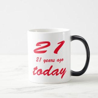 birthday 42nd magic mug