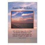 Birthday, 90th, Sunrise at the Beach, Religious