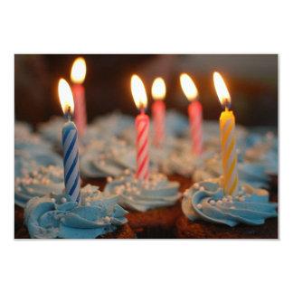Birthday 9 Cm X 13 Cm Invitation Card
