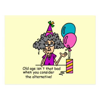 Birthday Alternative Humour Postcard