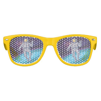 Birthday. Astronaut in Space with Stars & Galaxy. Kids Sunglasses